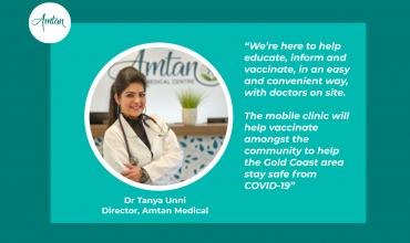 Mobile Pfizer COVID-19 Vaccine Clinic
